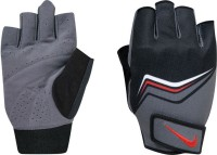 Nike Core Lock Training Gym & Fitness Gloves (XL, Grey, Black, Red)