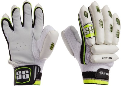 SS Deluxe Batting Gloves (Men, Multicolor)