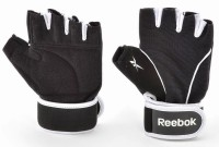 Reebok RAGL-11135BK Gym & Fitness Gloves (M, Black, White)