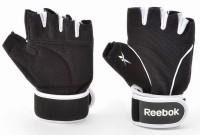 Reebok RAGL-11135BK Gym & Fitness Gloves (XL, Black, White)