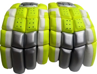 VSP Czar Batting Gloves (Youth, White, Green)