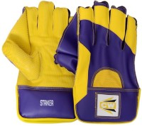 CW Striker Wicket Keeping Gloves (Men, Yellow, Purple)