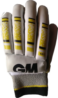 GM 101 Batting Gloves (Youth, White, Yellow)
