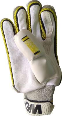 GM 101 Batting Gloves (Youth, White, Yellow)