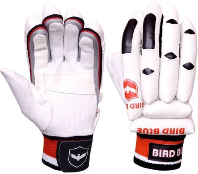 Birdblue V--300 Batting Gloves (Men, Red, White)