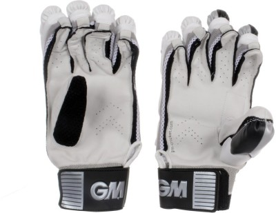 GM 606 Batting Gloves (Men, White, Black)