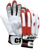 Ceela Classic Batting Gloves (S, White, Red)