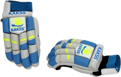 Kakss Bronco Batting Gloves (Men, Blue)