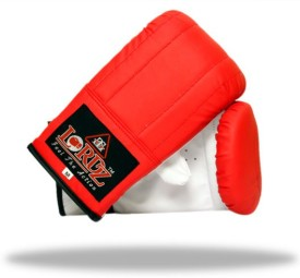 Lordz Bag Boxing Gloves (S, Red)