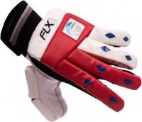 FLX Cestus Classic R1 Batting Gloves (Boys, White, Red)