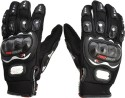 Pro-Biker Racing, Riding, Biking Driving Gloves (XL, Black)