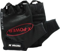 Vector X VX-300 Gym & Fitness Gloves (L, Black)