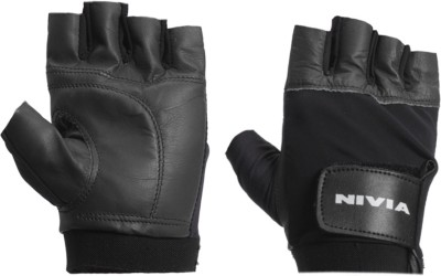 Buy Nivia Leather Gym Gym & Fitness Gloves: Sport Glove