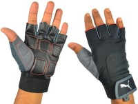 Puma Miscellaneous Gym & Fitness Gloves (L, Black, Red)
