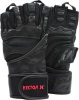 Vector X VX-2100 Gym & Fitness Gloves (XL, Black)