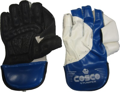 Cosco Stumper Wicket Keeping Gloves (L, Multicolor)