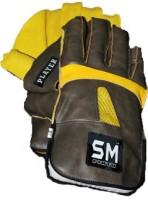SM Player Wicket Keeping Gloves (Men, Black, Yellow)
