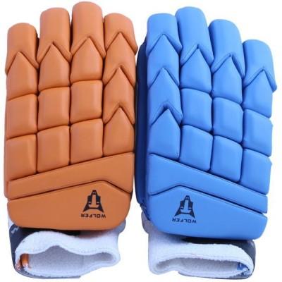 Wolfer BW Color Flash (Left Hand) Batting Gloves (Men, Multicolor)