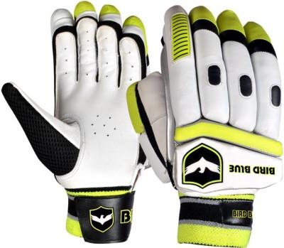 Birdblue Ibo Power Batting Gloves (Youth, White, Yellow)