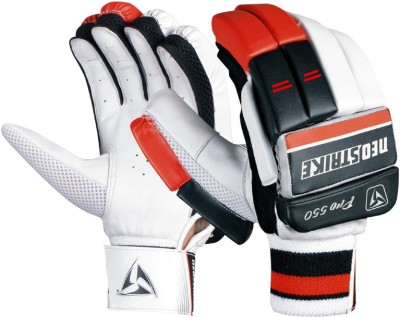 Neo strike Pro550mens Batting Gloves (Men, Black, Red)