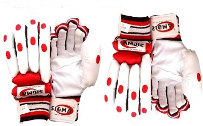 Sigma Club Wicket Keeping Gloves (M, White)