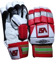 VSI Test Batting Gloves (Free Size, Red)