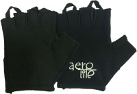 Aerolite Pro Trainer- IFIT Gym & Fitness Gloves (M, Black)