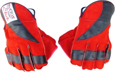 TURBO Club Wicket Keeping Gloves (Youth, Red, Black)