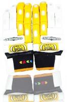 Turbo Mse Tournament Batting Gloves (L, Orange, White)
