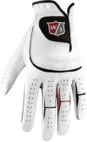 Wilson Grip Extra Golf Gloves (Men, White)