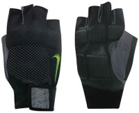 Nike Men's Lock Down Training Gym & Fitness Gloves (L, Black)