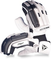Neo Strike Pro Player Batting Gloves (Men, White, Black)