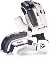 Neo Strike Pro Player Batting Gloves (Men, White, Black)