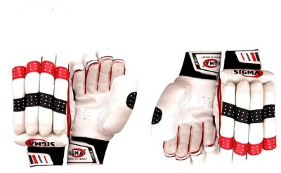 Sigma Prestige Batting Gloves (M, White)