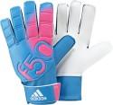 Adidas F50 Goalkeeping Gloves (Size-8, Pink, White, Solar Blue)