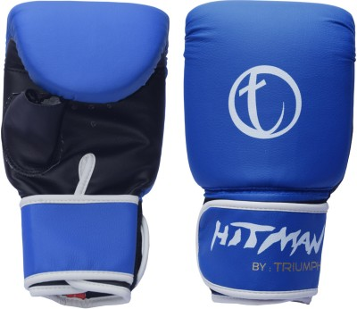 Hitman By Triumph Strike Punching Synthetic Pu Leather Boxing Gloves L Blue For Rs 800 At Flipkart Com