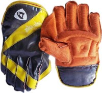 Diamond Super Leather Wicket Keeping Gloves (Men, Multicolor)