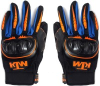 ACCESSOREEZ KTM Cycling Riding Gloves (L, Multicolor)