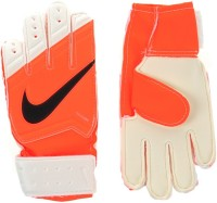 Nike GK Jr.Match Football Gloves (Boys, Orange, White, Black)