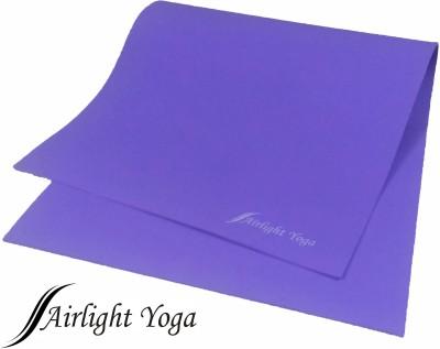Airlight 10mm Rubberized 6 Feet Yoga Purple 10 mm