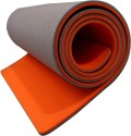 Aerolite Super Soft Double Color Yoga Orange, Grey 10 Mm Mat