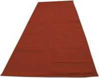 Lnt 400TC Portable Yoga Mat Solid Yoga Brick Red 1 Mm Mat
