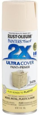 Rust-Oleum Painter's Touch Satin Strawflower Spray Paint 340 ml