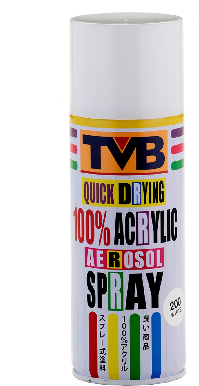 TVB 200 White Spray Paint 400 ml