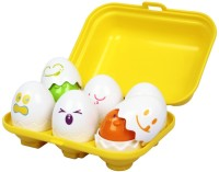 Funskool Tomy Hide 'N' Squeak Eggs (Multicolor)