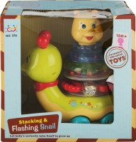 Walk Over Totally Toys Stacking And Flashing Snail (Multicolor)