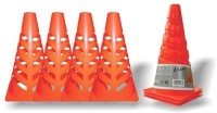 Speed Up Collapsible Marker Cones Set Of Four Pieces Football Stand (Plastic)