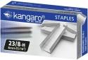 Kangaro Heavy Duty Stapler Pins - Set Of 20, Metallic