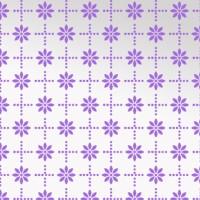 Decorze Purple Wall Decor FS-28 Flower Stencil (Pack Of 1, Floral)