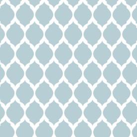 Decorze Grey Wall Decor MS-36 Geometric Stencil